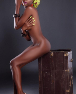 Nigerian Model, Faith Morey Releases Racy New Photos