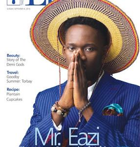 Mr Eazi Covers Guardian Life Magazine