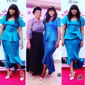 Photos: Omotola Stuns In Blue