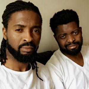 Basketmouth Chills With His Elder Brother In Manchester (Photos)