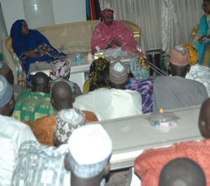 Photos: Minister Of Women Affairs Meets With Parents Of Missing Chibok Schoolgirls