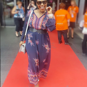 Lovely Photos Of Uche Jombo In Toronto