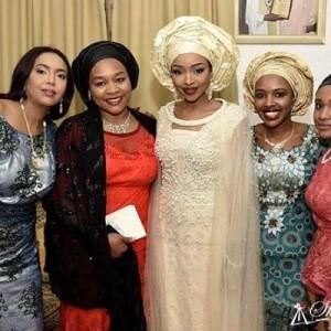 Photos: Halima And Zahra Buhari Attend Friend's Wedding In Kaduna State