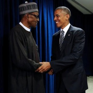 Photos: Pres. Buhari Meet President Obama At UN Meeting