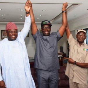 President Buhari Congratulates Obaseki And Oshiomhole On Electoral Victory