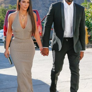 Kim And Kanye Step Out In Style For Friend's Wedding