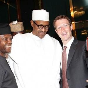 Photos: Mark Zuckerberg Back In Nigeria, Meet President Buhari, VP Osinbajo
