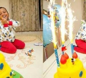 Photos: E Money's Son Chukwuebuka Celebrates His 3rd Birthday