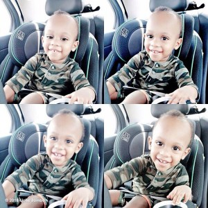 Uche Jombo Shares ADORABLE Photos Of Her Son