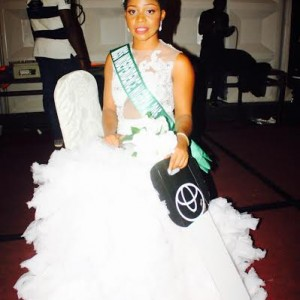 Abuja Beauty Queen Arrests Coordinator During Audition (Photo)