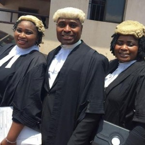 Photos: Nollywood Actor Kenneth Okonkwo And His Sisters At Enugu High Court