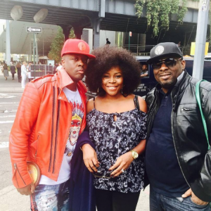 Omawumi Pictured With Wyclef Jean In New York | Photos