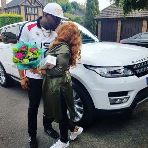 E-money Buys His Wife Brand New 2016 Range Rover Sport   Photos