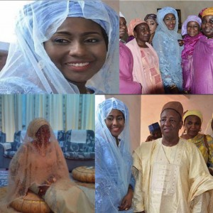 More Photos From President Buhari's Daughter, Hajiya Fatima's Wedding