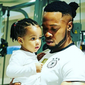 Why So Cute! Flavour N'abania Shares ADORABLE Photo With His Daughter