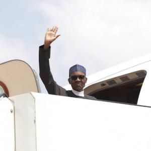 Photos: Pres. Buhari Departs For Germany