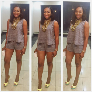 Ebube Nwagbo Shows Off Her Long Legs In New Photos