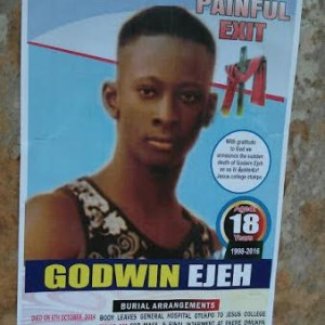 Photo: SS3 Student Electrocuted To Death In Benue State