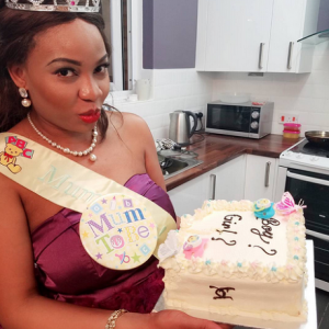 Photos: Nollywood Actress Sugar Chika And Hubby Welcome Baby Girl