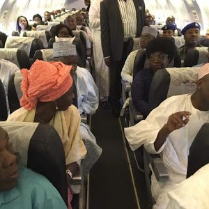 Kano State Governor Photographed In Economy Class Flight