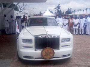 Oba of Benin, Oba Ewuare II Acquires 2016 Rolls Royce Phantom (Photos)