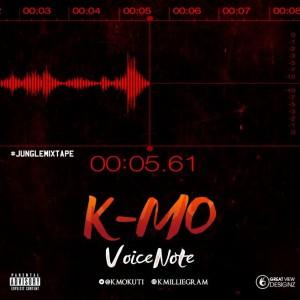 Music: K-mo – Voice Note |@kmokuti