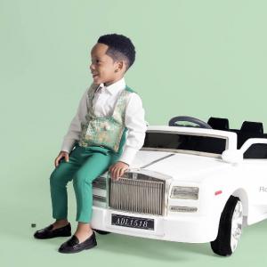 Toyin Lawani Shares Lovely Pre-birthday Photos Of Her Son Tenor