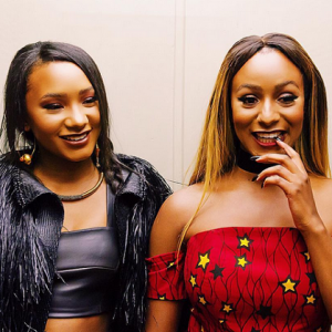 Stunning Photos Of Billionaire Daughters DJ Cuppy, Temi Otedola In London With Dangote