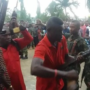 Photos: Militants Surrender Their Arms In Rivers state