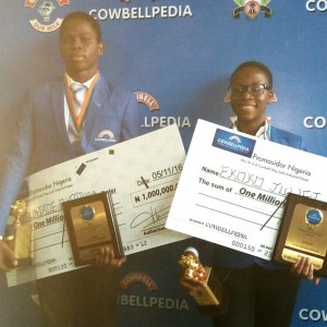 PHOTOS: 2 Kids Win N1m Each At Cowbellpedia Maths Competition