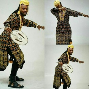 Flavour In Traditional Outfit For Nigerian Independence Day Celebration
