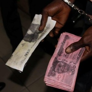 Photos: Two Suspected Fraudsters Arrested In Connection With Fake Currency In Rivers State
