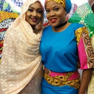 Toyin Aimakhu Pictured With Zahra Buhari (Photos)