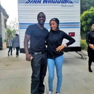 Rahama Sadau Arrives Hollywood To Honour Akon's Invitation (Photos)