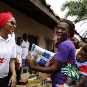 Photos : Zahra Buhari Celebrates Independence Day With The Less Privileged In Abuja