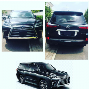 I Applaud Myself For Marrying You – Tonto Dikeh's Husband Gifts Her 2017 Lexus Jeep