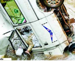 Photo: 16 Die As Commercial Bus Plunges Into River In Ogun On Independence Day