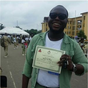 Senator Gbenga Ashafa Replies Corper Who Asked Him For N100K As NYSC Gift