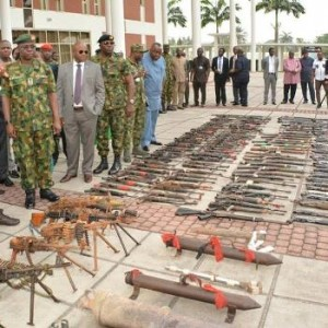 Photos: 22,430 Cultists Surrendered 8,572 Arms,147 Explosives In Rivers State