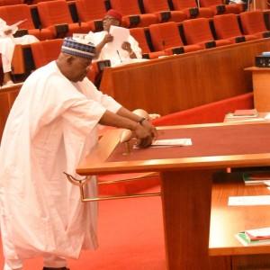 Photos From Today's Senate Plenary Session
