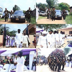 Photos: Comedian Basketmouth Buries His Mum