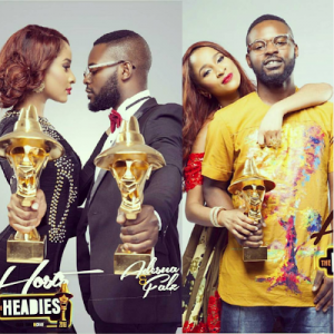 Adesua Etomi and Falz to host 2016 Headies award