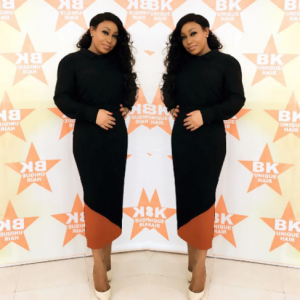 Rita Dominic Stuns At The Launch Of Her Hair Line