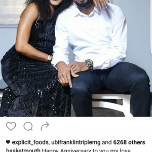 Basketmouth and wife, Elsie, celebrate 6th wedding anniversary