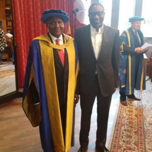 PHOTO: Coventry University Honours Dangote