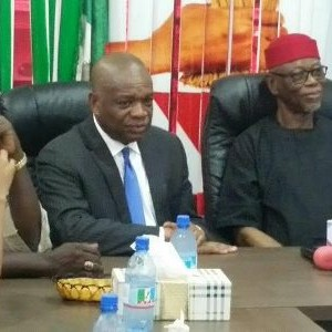 Photos: Former Abia state governor, Orji Uzor Kalu, defects to APC