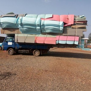 Photos: FRSC Impounds a Truck Overloaded With Foam