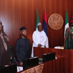 Photos: President Buhari Presides Over Today's Federal Executice Council Meeting