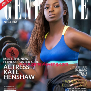 Kate Henshaw Flaunts Her Athletic Body On The Cover Of Genevieve Magazine
