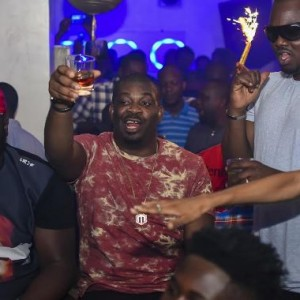 Photos from Don Jazzy's surprise birthday party last night